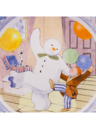 "Тарелка ""The Snowman"" из костяного фарфора от Coalport"