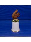 Наперсток с белкой из коллекционной серии Miniature Kingdom