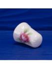 Фарфоровый коллекционный наперсток с розой