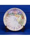 """Декоративная тарелка """"Cinderella"""" (Золушка) из редкой коллекционной серии Fairy Tale Plate Collection от Coalport"""