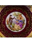 Малая тарелка от Limoges с золотым ободком⠀