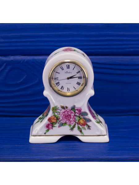 Каминные часы дизайна Rose Garden от Aynsley