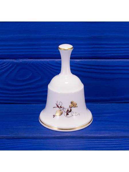 Винтажный колокольчик от Hammersley с нежным позолоченным рисунком