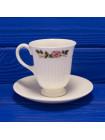 Две кофейные пары от Wedgwood, of Etruria & Barlaston дизайн Briar Rose