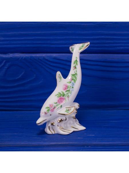 Изысканная статуэтка американского производства для любителей морских млекопитающий от Lenox