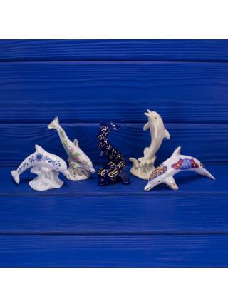 Изысканная статуэтка американского производства с морским млекопитающим от Lenox