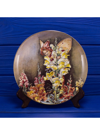 "Тарелка A8494 ""The Snapdragon Fairy"" от Border из коллекционной серии ""The Festival of Flower Fairies"""