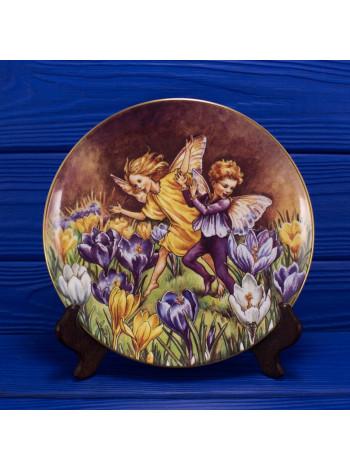 "Тарелка A3606 ""The Crocus Fairy"" от Border из коллекционной серии ""The Festival of Flower Fairies"""
