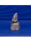 Коллекционный металлический наперсток с объемной фигуркой Шалтая-Болтая