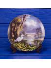 """Тарелка """"Tranquil Beauty"""" серии God Bless America от Danbury Mint"""