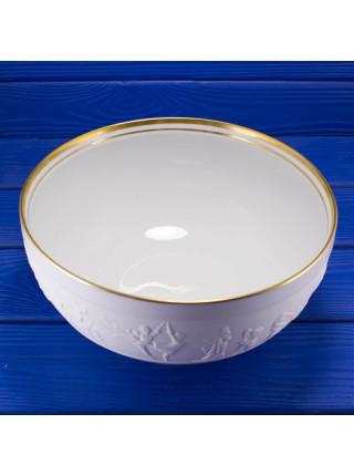 Роскошная чаша редкого дизайна известного художника Stuart Mark Feldman, выпущенная Franklin Porcelain в 1981 году к 50-ти летней годовщине королевского балета