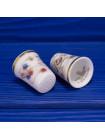 Полный комплект фарфоровых наперстков Royal Doulton Времена Года из коллекционной серии Brambly Hedge