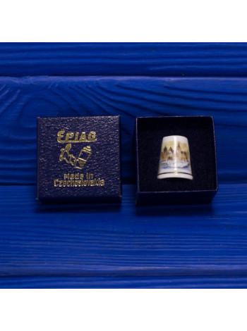 Коллекционный винтажный наперсток из Чехословакии от Epiag в оригинальной коробочке