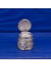 Коллекционный металлический наперсток в виде пивной кружки с открывающейся крышкой