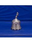 Коллекционный металлический наперсток в виде шатра рыцаря