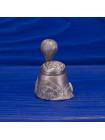 Коллекционный металлический наперсток с подвижной фигуркой воздушного шара