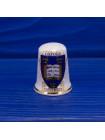 Коллекционный фарфоровый наперсток с гербом Оксфордского университета