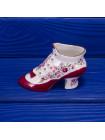 Фарфоровая туфелька, выпущенная Aynsley специально  по заказу Compton and Woodhouse, для исторической коллекции