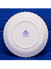 Фарфоровое круглое блюдце для украшений и мелочей с нарядным рисунком дизайна Ming Rose от Coalport