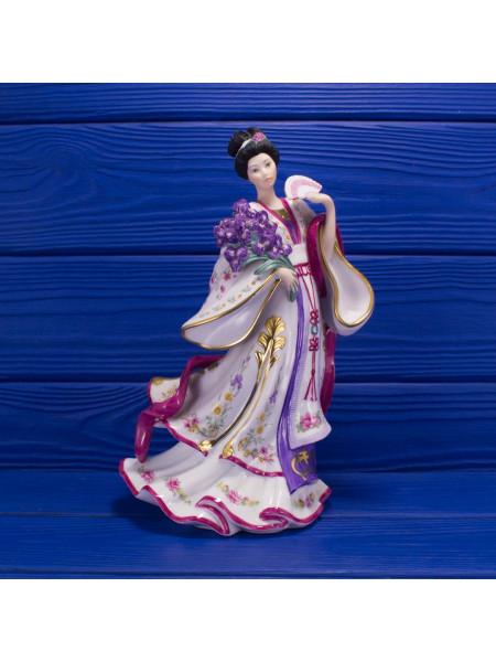 """Статуэтка Danbury Mint """"Iris Princess"""" коллекция """"Принцессы цветов"""""""