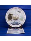 Большая фарфоровая тарелка Coalport № 3958, выпущенная к 40-летию окончания второй мировой войны