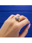 Винтажная синяя камея в серебре кольца от Wedgwood