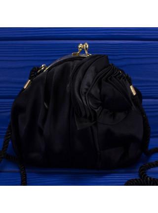Атласная вечерняя сумочка в винтажном стиле от J.Renee