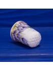 Очень красивый наперсток из костяного фарфора с изображением рыбалки