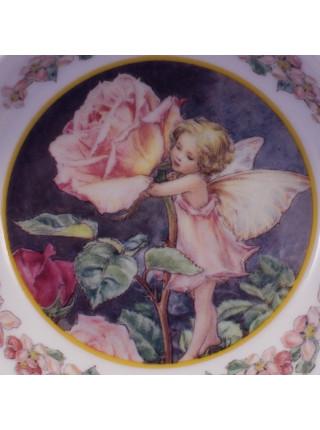 Глубокое блюдце Flower Fairies от Royal Worcester