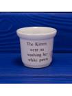 Коллекционная рюмка для яйца от Wedgwood по мотивам книги Mrs. Tiggy-Winkle Beatrix Potter