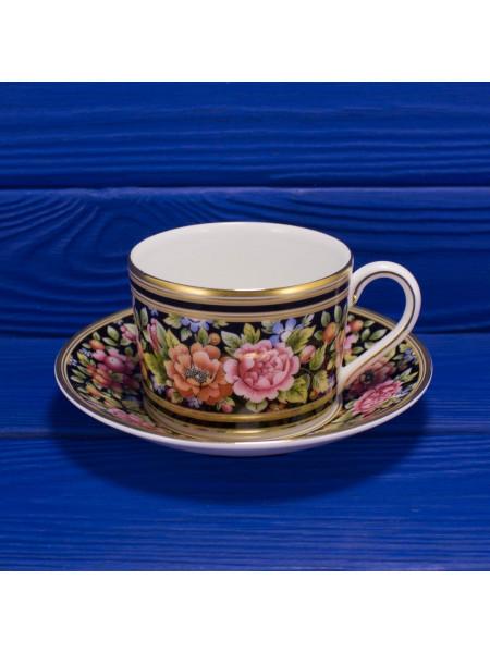 Чайная пара изысканного дизайна Clio от Wedgwood
