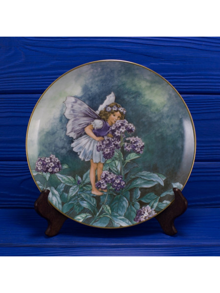 "Тарелка от Heinrich Germany Villeroy & Boch номер 9017 G ""The Heliotrope Fairy"""