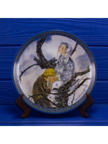 Тарелка номер 753 C Die Vollendung с сертификатом и брошюрой от Konigszelt Bavaria из коллекционной серии Sulamiths Liebeslied (Песни о любви Суламифь)