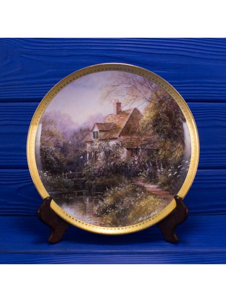 Тарелка Royal Doulton MA1619 Woodbridge Cottages