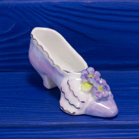 Очаровательная туфелька с цветами и кружевом от Royal Stratford