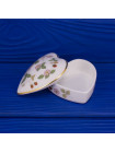 Шкатулка WEDGWOOD дизайн WILD STRAWBERRYв форме сердца