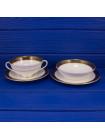 Чаша на блюдце ROYAL DOULTON дизайн ROCHELLE