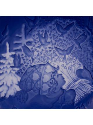 Тарелка B&G (Bing & Grondahl) Рождество 1981 год