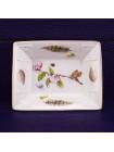 Блюдце AYNSLEY прямоугольное, дизайн NATURE'S DELIGHT