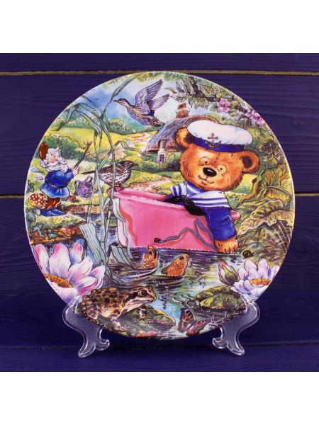 """Тарелка Coalport """"Teddy the Sailor"""""""